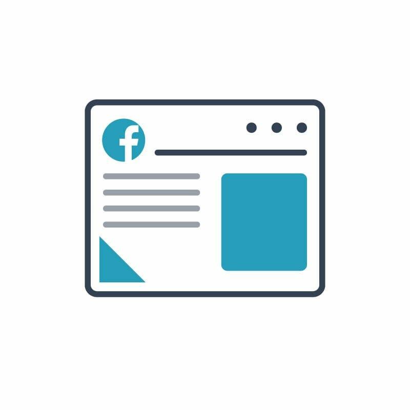 publicité facebook et instagram, Long media